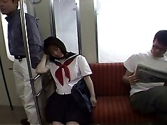 Seducing a student in the tramway