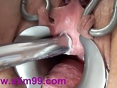 Extreme Peehole Fucking Injection Dildo and Japanese sounds