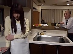 Exotic Japanese whore Shiori Kamisaki in Crazy frigging, rimming JAV sequence