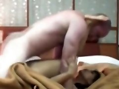 Indonesian Maid Having First Time Sex with Milky Trouser Snake
