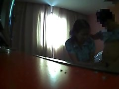 Flashing The hotel maid (4)