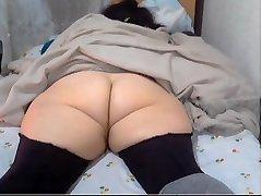 good-sized asian voyeur