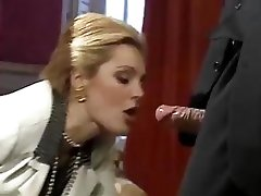 The best Hard-core flicks from gorgeous classic porno star Laure Sainclair
