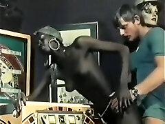 Hottest Black and Ebony, Vintage pornography scene