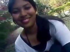 Beautiful Indian college girl first time showing her juicy breasts
