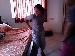 Super Hot Bengali girl quickie pulverize with neighobour in her room
