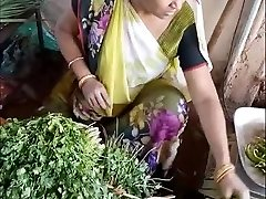Glorious Indian Vegetable Vendor Spy