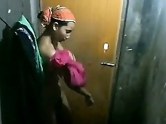 Indian Chick changing Clothes covert cam catches