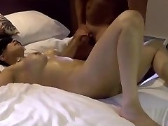 Eyes Covered Indian wife caressed black man