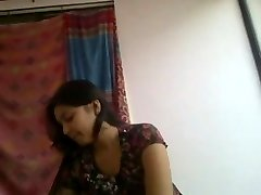 Supah cute and insatiable desi indian girlfriend