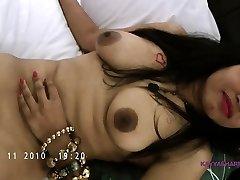 Big Titty Indian Slut Amateur Babe Kavya Masturbating With