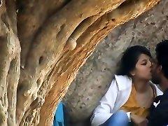 Desi enjoy birds caught on covert cam