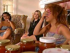 Uh Oh - Divas Night Revved Into A Girl-girl Orgy