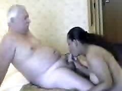Chubby Indian Stunner and old Tourist