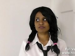 Naughty School Girl Bribing Insane Teacher
