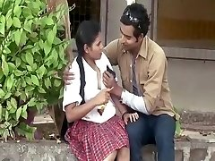 Guy Seducing Sexy School Girl