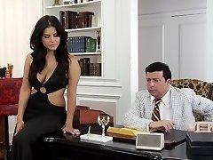 Unbelievable pornographic stars Madison Ivy, Sunny Leone and Breanne Benson in amazing facial, hd xxx scene