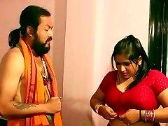 Swamiji enjoying with sexy Bhabhi