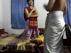 Desi Bangla Kushtia Panna maestro estudiante de la instrucción de la Cam