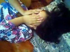 Krásné Bengálské Dívka Prdeli Její Přítel