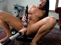 Crazy fetish, cougar xxx pin with incredible superstar India Summer from Fuckingmachines