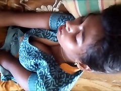 Tamil school girl bumpers captured by brother