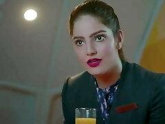 Indian desi Air  Hostess girl romp whth passenger