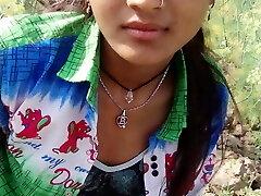 Infian girl outdoor