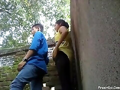 Desi young College Lover Pound
