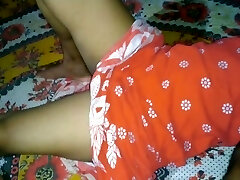Desi bhabhi in the first-ever time foking me