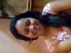 Desi Girl Knockers Pressed By Boyfriend