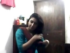 Marvelous Bengali Babe In Shalwar at Getting Off