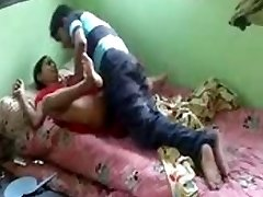 Real desi bhabhi nailed by her devar secretly at home