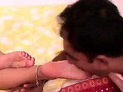 Indian Feet Getting Adored