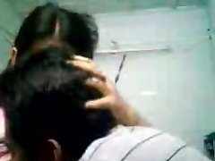 Indian Bengali College Girl First Time Romp With Bf-On Cam