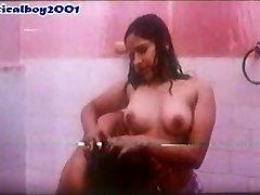Mallu Reshma under shower
