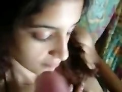 Indian couple on bed