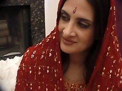 Fabulous Anglo-Kashmiri Indian Pornstar