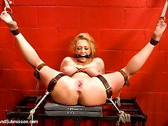 Darling, one of the kinkiest and sexiest BDSM models of all times, returns for a super hot and...