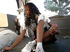 18 year old ebony cutey
