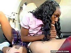 wet black teen