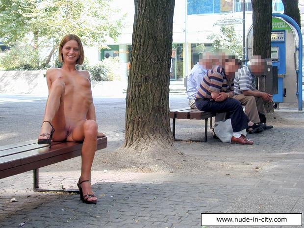 Jerking Off Girl Public