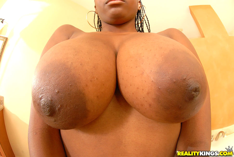 Big Bouncing Ebony Tits