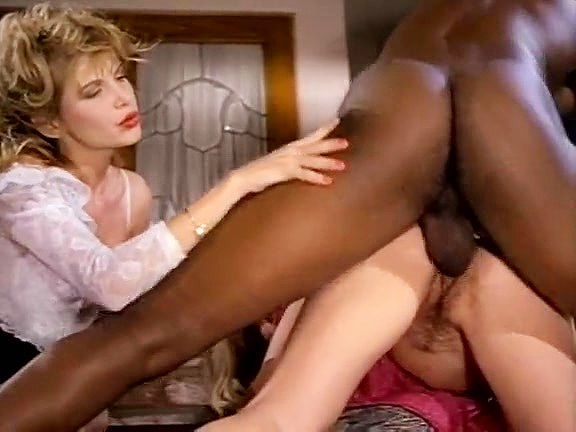 Devlin Weed Ebony Threesome