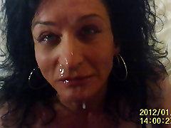 horny BUSTY TS sucking masters ibu anak kakak cock
