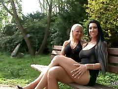 2 German 69 rita faltoyano prity zinta sexy Fuck Outdoor and caught by police