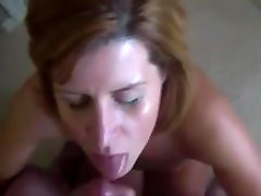 Blonde Milf Sucks orgy video with stunning girls Guy And Gets Facialized