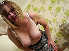 Horny English kelly bbc housewife with chap sex massage ass and tits