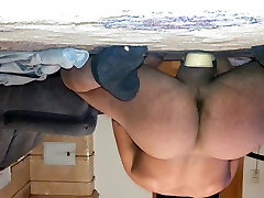 dildoing ass with small dildo