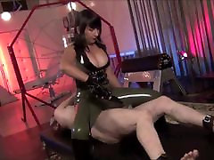 Hot Asian mistress Electro sexy japanese cartoon mother and5 and faceslapping